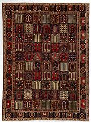 Sale 8770C - Lot 5 - A Persian Bakhtiyari And Classic Garden Design, 100% Wool On Cotton, Classed As Prerevolution Weave, 422 x 310cm
