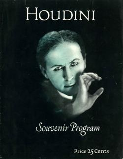 Sale 7919A - Lot 1810 - Houdini Souvenir Program & Other Houdini Related Pamphlets & Booklets