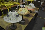 Sale 8380 - Lot 1046 - Collection of Four Table Lamps