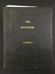 Sale 8539M - Lot 159 - The Magigram 1975-76 - a large bound set for September 1975 to August 1976. In black cloth hardback, with colour covers and photog...