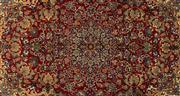 Sale 8770C - Lot 43 - A Very Fine Persian Esfahan From Isfahan Region 100% Wool Pile On Cotton Foundation, 350 x 225cm