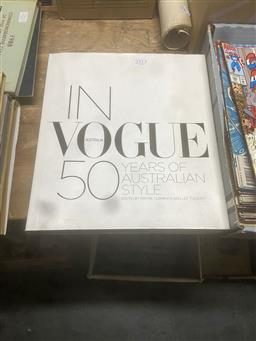 Sale 9106 - Lot 2313 - 2 Vols: In Vogue: 50 Years of Australian Style & Womens Weeky...Memories and Great Moments...