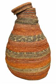Sale 8409A - Lot 593 - Robyn Djunginy (1947 - ) - Coli Basket h. 77, w. 42cm
