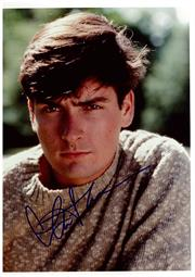 Sale 8555A - Lot 5046 - Charlie Sheen
