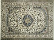 Sale 8256B - Lot 63 - Persian Nain 396cm x 290cm RRP $7000