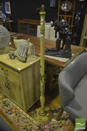 Sale 8305 - Lot 1022 - Painted Standard Lamp