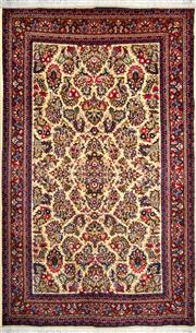 Sale 8323C - Lot 30 - Persian Qum 210cm x 130cm RRP $1600