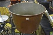 Sale 8368 - Lot 1023 - Copper Wash Tub