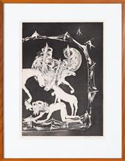 Sale 8550H - Lot 210 - Arthur Boyd - Lady and the Unicorn Series, 1973-75