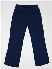 Sale 8740F - Lot 119 - A pair of Ermanno, Italian made royal blue casual pants with elasticated waist, size 42 (as new, with tags)