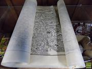 Sale 8362 - Lot 248 - 2 Identical Japanese Pairs of Prints of Maps (4)