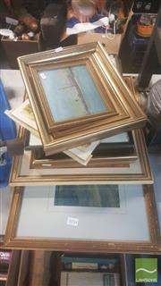 Sale 8446 - Lot 2054 - Collection of Artwork, Prints; Various Sizes & Media