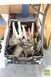 Sale 8478 - Lot 2226 - Box of Tools incl. Clippers & Blow Torches