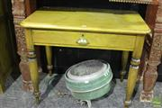 Sale 8499 - Lot 1008 - Ash Side Table with Fitted Drawer