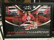 Sale 8805A - Lot 867 - Bathurst Champions, framed