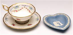 Sale 9119 - Lot 40 - A boxed Wedgwood harlequin selection teacup set together with Wedgwood dish