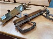 Sale 8476 - Lot 1037 - Pair of Vintage Cross-Country Ice Skates