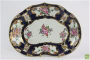 Sale 8533 - Lot 27 - Dr Wall Worcester 18th Century Kidney Shaped Dish