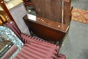 Sale 8019 - Lot 1074 - Victorian Walnut Sutherland Table with Turned Spiral Design Supports