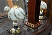 Sale 8054 - Lot 1017 - Pair of Touch Lamps - 1 x A/F