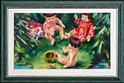 Sale 8316 - Lot 596 - Jeffrey Alan Harris (1949 - ) - Doll Play 43.5 x 74cm