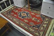 Sale 8390 - Lot 1027 - Afghan Kazak (178 x 104cm)
