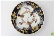 Sale 8533 - Lot 22 - Chelsea 18th Century Gold Anchor Plate