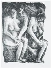 Sale 8548 - Lot 2013 - Sandra Guy - Nudes I, 1987 45 x 35cm