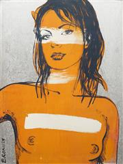 Sale 8764 - Lot 554 - David Bromley (1960 - ) - Belinda 122.5 x 91cm