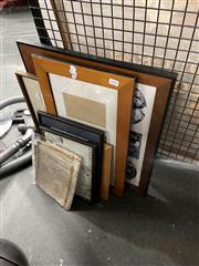 Sale 8906 - Lot 2090 - Collection of Frames & Map