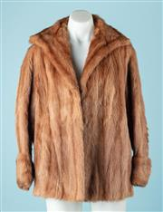 Sale 9027F - Lot 26 - An M.Heilman furs mink coat in caramel, size M