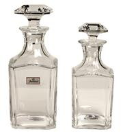 Sale 7937 - Lot 11 - Baccarat Graduated Pair of Decanters