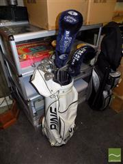 Sale 8478 - Lot 2127 - Ping & Callaway Golf Clubs in Bag