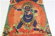 Sale 8909S - Lot 668 - Thangka featuring deity