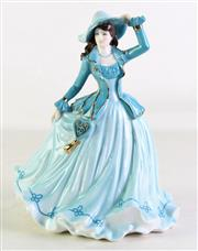 Sale 8931 - Lot 95 - A Large Coalport Figure of Gentle Breeze (H 25cm)