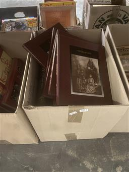 Sale 9101 - Lot 2254 - Box of American Indian Hard Back Books