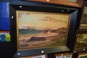 Sale 8419T - Lot 2054 - Artist Unknown - Afternoon Beach Scene, oil on canvas, 60 x 75cm, unsigned