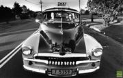 Sale 8721A - Lot 73 - Artist Unknown - Photographers hand stamp on verso, FJ Holden Taxi, NSW 1988 15 x 24cm