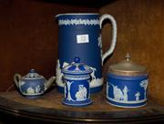 Sale 7962B - Lot 72 - Small collection of Wedgwood Jasperware