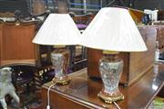 Sale 8326 - Lot 1645 - Pair of Satsuma Table Lamps (4149)