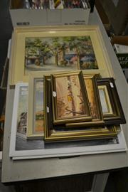 Sale 8453 - Lot 2075 - Collection of Artworks; Mostly Landscapes, Various Media, Various Sizes