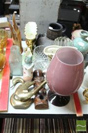 Sale 8478 - Lot 2240 - Collection of Sundries incl Tiki, Brass Birds, etc