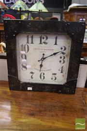 Sale 8550 - Lot 1221 - Reproduction Wall Clock