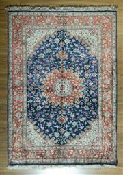 Sale 8700C - Lot 32 - Super Fine Persian Silk Qum 193cm x 140cm