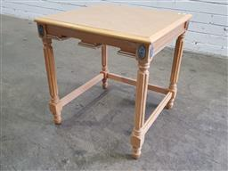 Sale 9151 - Lot 1280A - French style side table (h:54 x w:51 x d:51cm)