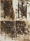 Sale 7800 - Lot 11 - FRED WILLIAMS (1927-1982) - Landscape Quartette 1962 sugar aquatint, resin aquatint, engraving and drypoint, edition: 29/65