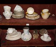 Sale 7962B - Lot 73 - Quantity of part tea sets including Crown Ducal and Royal Stafford etc