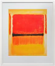 Sale 8203A - Lot 28 - Mark Rothko (1903 - 1970) After. - Untitled, 1949 75 x 61cm (frame 108 x 88cm)