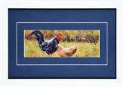Sale 8259 - Lot 649 - Werner Filipich (1943 - ) - The Rooster and Family 13 x 29cm