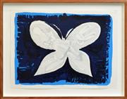 Sale 8266 - Lot 542 - Charles Blackman (1928 - ) - Nightsky Butterfly, 2004 64 x 51cm